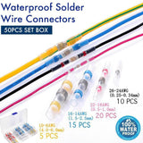 SWC™: Waterproof Solder Wire Connectors SWC™: Waterproof Solder Wire Connectors 50PCS