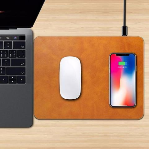WIRELESS CHARGING MOUSEPAD WIRELESS CHARGING MOUSEPAD Light Brown