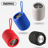 Remax RB-M21 Portable Bluetooth Speaker Support TF card, FM and AUX-in - White
