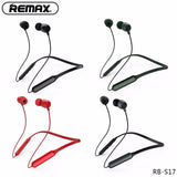 Remax Bluetooth Neckband Sports Headset RB-S17 - Gray