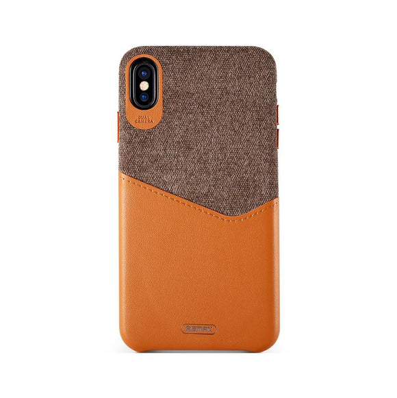 Remax Hiram Series Phone Case RM-1650 for iPhone XS Max - Brown