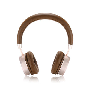 Remax Wearing Bluetooth Headset RB-520HB - Gold