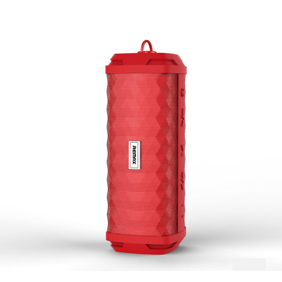 Remax RB-M12 Outdoor Waterproof Bluetooth Speaker - Red