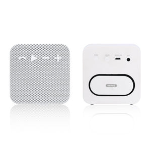 Fabric Portable Bluetooth Speaker RB-M18 - White