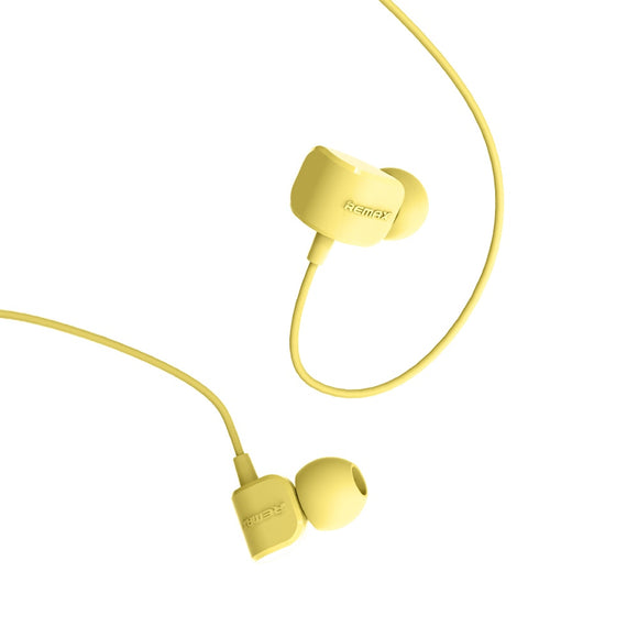 Remax Earphone RM-502 - Yellow