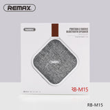 Remax RB-M15 Portable Fabric Bluetooth Speaker support TF Card playing - Black