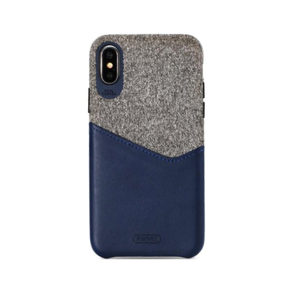 Remax Hiram Series Phone Case RM-1650 for iPhone X - Blue