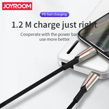 Joyroom Roma Series PD fast charging Cable 1.2M S-M417 1.2M - Red