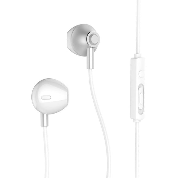 Remax Wired Earphone RM-711 - Silver