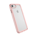 Speck (Apple Exclusive) Presidio Show Case for iPhone 6/6s/7/8 Clear - Rose Gold