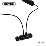 Remax Bluetooth Neckband Sports Headset RB-S17 - Black