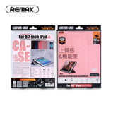 Remax Leather Case for 9.7-inch iPad PT-10 - Beige