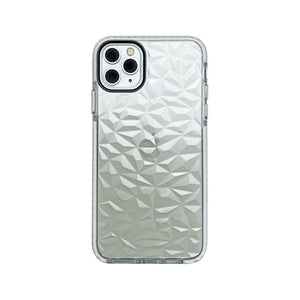 CaseMania Case 22 for iPhone 11 Pro Max Antishock Diamond Frame - White