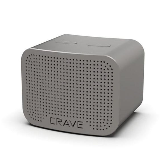 Crave Curve Mini 5W Bluetooth Speaker - Gray