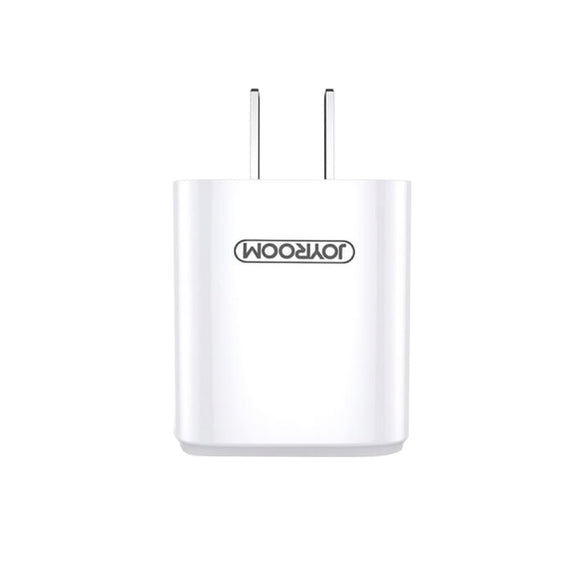 Joyroom Travel Charger L-M126 Single Charger 2.4A 1 USB - White
