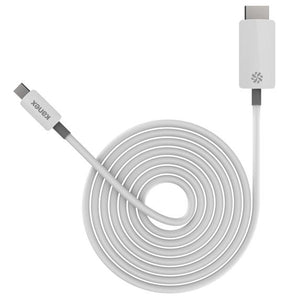 Kanex Mini DisplayPort to 4K HDMI Cable 6-foot/2 m - White