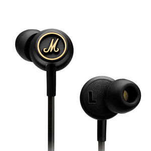Marshall Mode EQ In Ear Headphones - Black/Brass