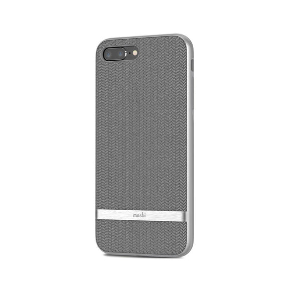 Moshi (Apple Exclusive) Vesta for iPhone 7/8 Plus Herringbone - Gray