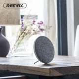 Remax Fabric Ultra Thin Portable Bluetooth Speaker RB-M9 - White