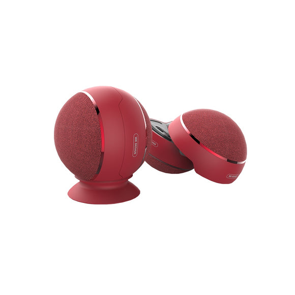 Remax SP500 Portable Bluetooth Speaker TWS - Red