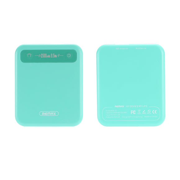 Remax 2500 mAh Pino Power Bank RPP-51 - Blue