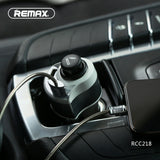 Remax Car Charger Journey Series RCC218 - Black