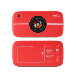 Remax Category Wireless Power Bank 10000 mAh RPP-91 - Red