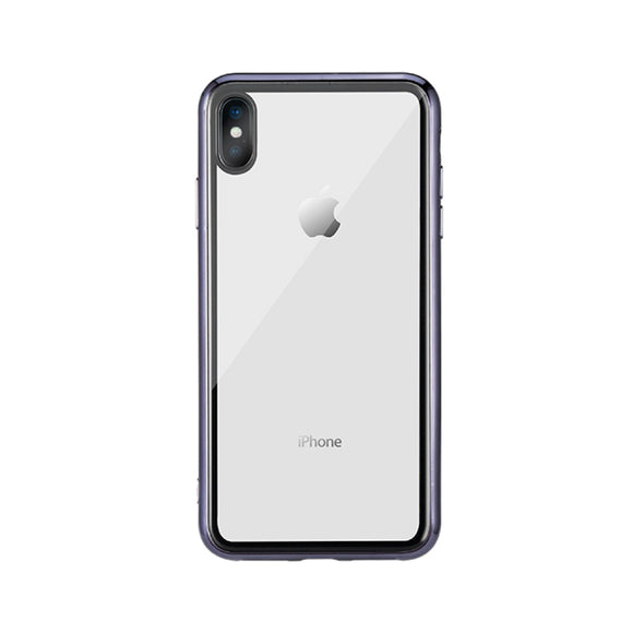 Remax Crysden series glass Case RPC-002 for iPhone XS - Black