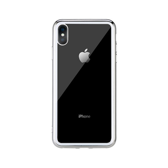 Remax Crysden series glass Case RPC-002 for iPhone XS - White