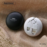 Remax Cutebaby Retractable Data Cable for Type-C RC-099a 1M - Black