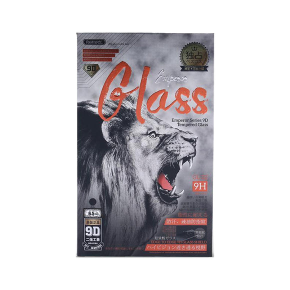 Remax Emperor Series 9D Tempered Glass GL-32 for iPhone 6.5-inch - Black
