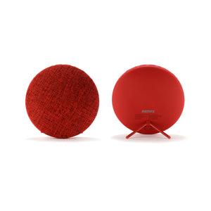 Remax Fabric Ultra Thin Portable Bluetooth Speaker RB-M9 - Red