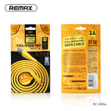 Remax Full Speed Pro Data Cable 1M RC-090a for Type-C - Gold