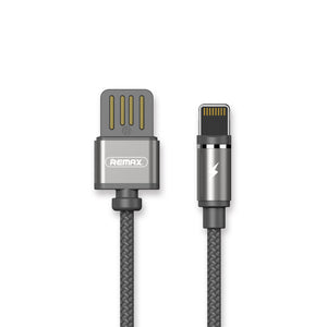 Remax Gravity series Data Cable RC-095i for Lightning Magnetic Cable - Gray