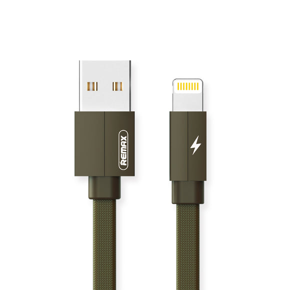 Remax Kerolla Data Cable USB to Lightning RC-094i 1M - Green