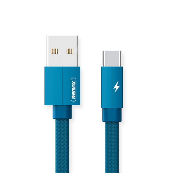 Remax Kerolla Data Cable USB to Type-C RC-094a 1M - Blue