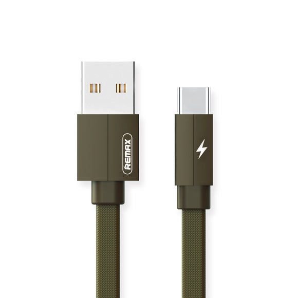 Remax Kerolla Data Cable USB to Type-C RC-094a 1M - Green