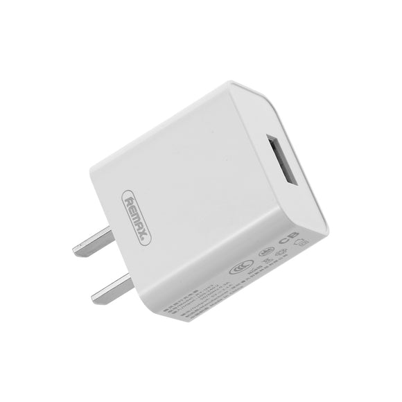 Remax Kinling Series 2.1A Single USB Charger RP-U110 - White