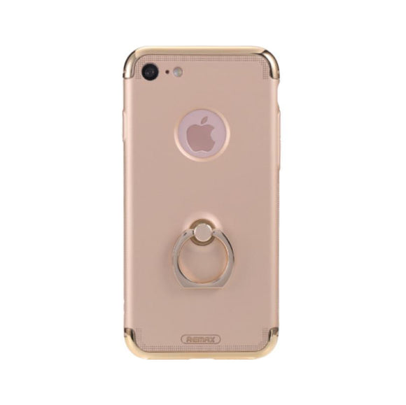 Remax Lock Creative Case for iPhone 7 Plus with Ring - Gold