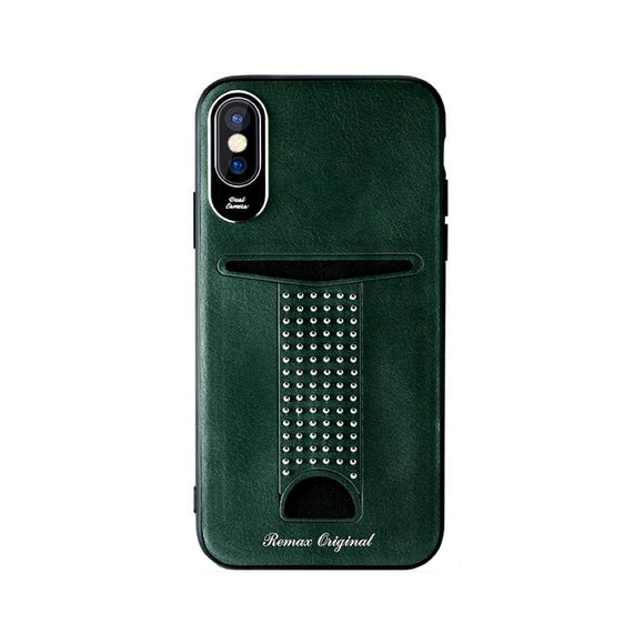 Remax Mihsuan Series Phone Case RM-1668 iPhone XS - Green