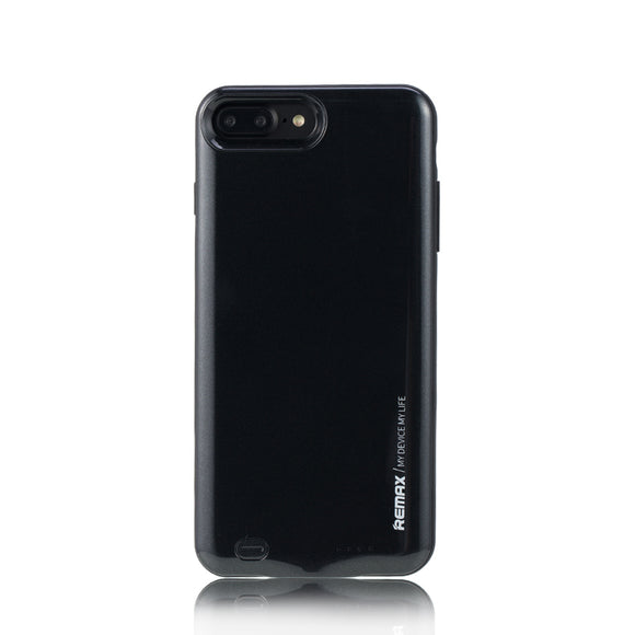 Remax Penen Rechargeable Battery Case for iPhone 7 Plus 3400 mAh - Black
