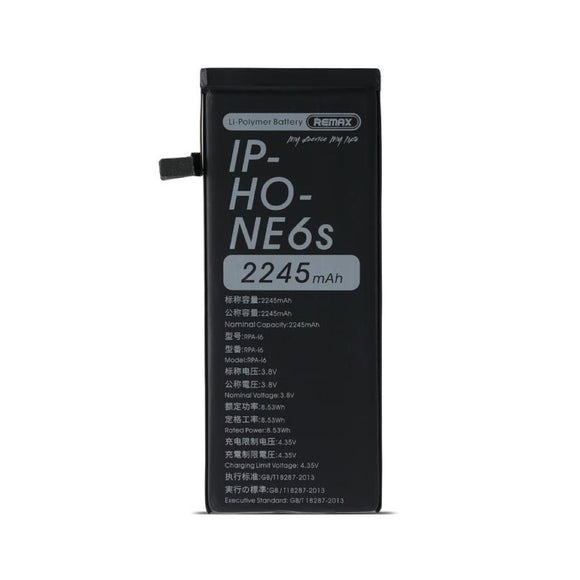 Remax Powerup Battery RPA-i6 2245 mAh for iPhone 6s - Black