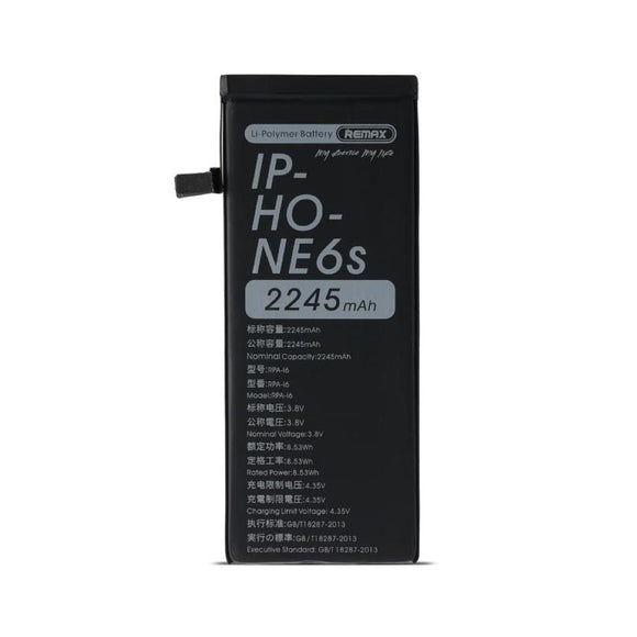 Remax Powerup Battery RPA-i6 2245 mAh for iPhone 6 /6s - Black