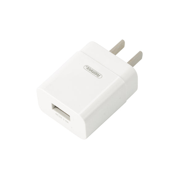 Remax Prime Pro Charger RP-U112 1A single USB port - White