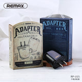 Remax Tanfox 2 USB Adapter RP-U15 Output: 2.1A USB Port: 2 - Black