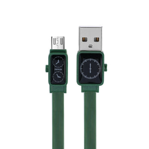 Remax Watch Data Cable for Micro USB RC-113m - Green