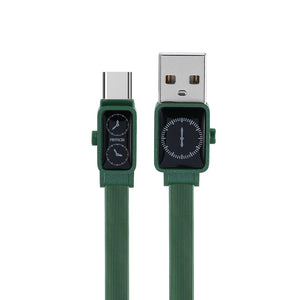 Remax Watch Data Cable for Type-C RC-113a - Green