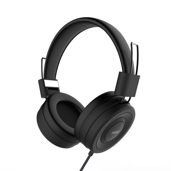 Remax Wired Headphone for Music and Calls RM-805 - Black