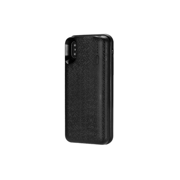 Remax Wireless Power Bank 4500 mAh and Phone Case for iPhone X WP-069 - Black