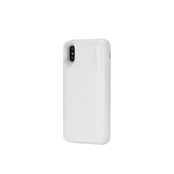 Remax Wireless Power Bank 4500 mAh and Phone Case for iPhone X WP-069 - White